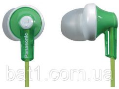 Наушники для телефона вакуумные Panasonic RP-HJE118GU-G