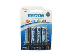 Батарейка Beston AA 1.5V Alkaline, 4шт