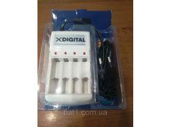 Зарядное устройство X-Digita KN-8003 + 4 Аккумулятора X-Digita HR6 Ni-MH 2500mAh PHOTO