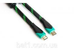 Видео кабель PowerPlant HDMI - HDMI, 3м, позолоченные коннекторы, 2.0V, Double ferrites, Highspeed