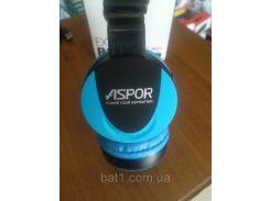 Беспроводные наушники Bluethooth Aspor- MS-771 голубой