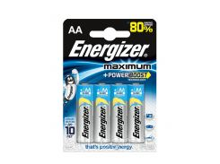 Батарейки Energizer Maximum Alkaline LR06 \ AA \ БЛ*4шт щелочные