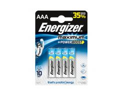 Батарейки Energizer Maximum Alkaline LR03 \ AAA \ БЛ*4шт щелочные