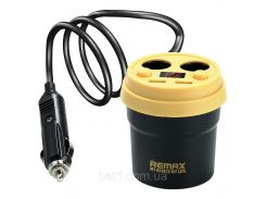 АЗУ REMAX Coffee Cup CarCharger CR-2XP LCD 2USB/3.1A