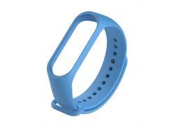 Ремешок для фитнес браслета Xiaomi Mi Band 3 синий