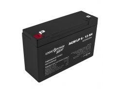Аккумулятор AGM LogicPower LP 6-12 AH SILVER