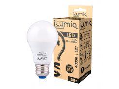 Светодиодная лампа Ilumia низковольтная 10Вт, 36В Цоколь Е27, 4000К (нейтральный белый), 1000Лм (011)