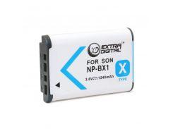 Аккумулятор для Sony NP-BX1, Li-ion, 1240 mAh (BDS2648)