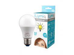 Светодиодная лампа Ilumia 12Вт, цоколь Е27, 3000К (теплый белый), 1200Лм (004)