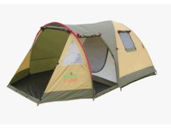 Палатка трехместная Green Camp Х-1504