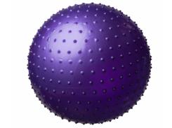 Мяч массажный для фитнеса King Lion 55см фиолетовый