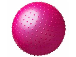 Мяч массажный для фитнеса King Lion 25415-3 розовый, 75 см.