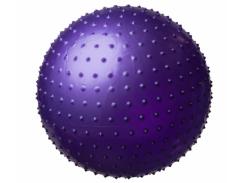 Мяч массажный для фитнеса King Lion 25415-1 фиолетовый, 55 см.