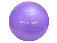 Мяч для фитнеса Profit 85 см, M 1578 фиолетовый
