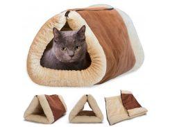 Лежак-кровать для кошки 2 in 1 Kitty Shack(01638)