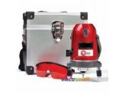 Уровень лазерный Профессиональный 5 лазерных головок, звуковая индикация MT-3011 Intertool