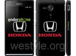 "Чехол на Sony Xperia SP M35H Honda. Logo ""3113c-280-2448"""