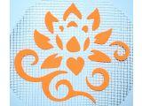 Цены на Трафарет Цветок 123 А5