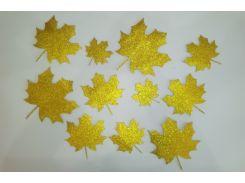 Декор Кленовые листья 11 шт