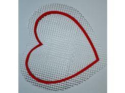 Трафарет Сердце А5