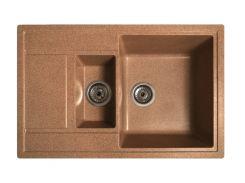 Кухонная мойка Solid Практик из искусственного камня