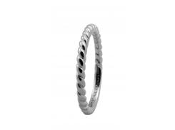 Кольцо CC 800-0.1.A/57 Rope silver