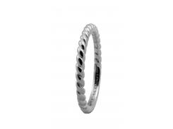 Кольцо CC 800-0.1.A/59 Rope silver