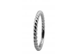 Кольцо CC 800-0.1.A/61 Rope silver
