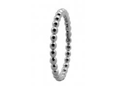 Кольцо CC 800-0.3.A/59 Circles silver