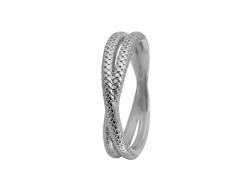 Кольцо CC 800-1.11.A/49 Twin Snake silver