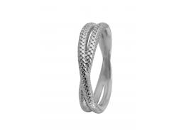 Кольцо CC 800-1.11.A/57 Twin Snake silver