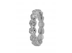 Кольцо CC 800-1.12.A/61 Heart Beat silver