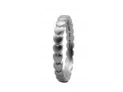 Кольцо CC 800-1.4.A/49 Hearts silver