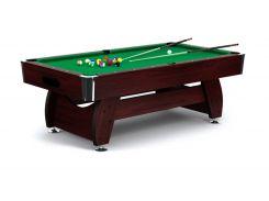 Бильярдный стол VIP Extra 8FT cherry-green