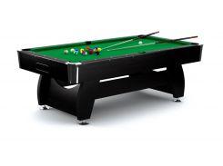 Бильярдный стол VIP Extra 8FT black-green