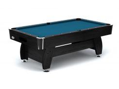 Бильярдный стол VIP Extra 8FT с каменной плитой black/blue