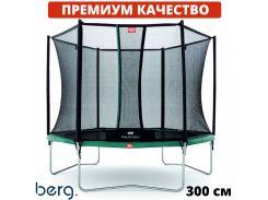 Батуты детские и для взрослых BERG Talent 300 см с сеткой Comfort Голландия. ПРЕМИУМ СЕГМЕНТ