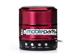 Портативная колонка (Аудиоколонка) BLUETOOTH WS-887 (Красная)
