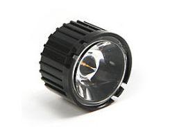 Линза оптическая для светодиодов 1,3,5 Вт, 45 градусов