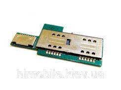 Плата Lenovo P780 для Сим (Sim) и флеш карт