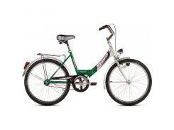 """Велосипед городской/дорожный, складной Ardis Fold CK 24"""" / рама 17"""" зеленый/серебристый"""