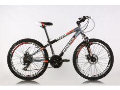 """Велосипед горный (MTB), кросс-кантри Ardis Fitness MTB 24"""" / рама 13"""" черный/оранжевый/серый"""