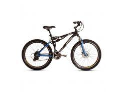 """Велосипед горный (MTB), кросс-кантри Ardis Laser AMT 26"""" / рама 17,5"""" черный/голубой"""
