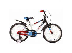 """Велосипед детский двухколесный Ardis Fitness BMX 20"""" Белый/черный"""