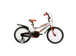 """Велосипед детский двухколесный Ardis Star BMX 18"""" Белый/оранжевый"""