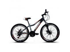"""Велосипед горный (MTB) Ardis Avenger MTB 24"""" / рама 13"""" белый/черный/зеленый"""