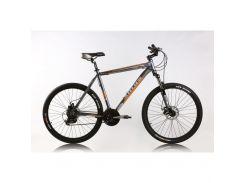 """Велосипед горный (MTB), кросс-кантри Ardis Vincent MTB 26"""" / рама 21"""" серый/оранжевый/белый"""