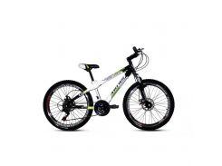 """Велосипед горный (MTB), кросс-кантри Ardis Fitness MTB 24"""" / рама 13"""" белый/салатовый/черный"""