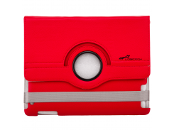 """Чехол с подставкой для iPad, планшета LF-832RD до 9.7 кожзам, красный"""""""