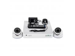 Комплект видеонаблюдения Green Vision GV-K-S15/02 1080P